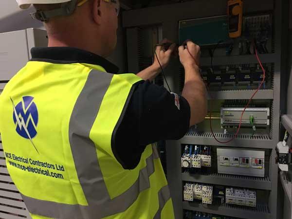 MCE control panel